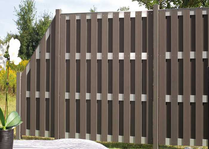 Outdoor wpc fences