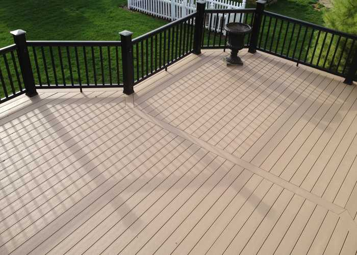 Outdoor WPC Solid Decking