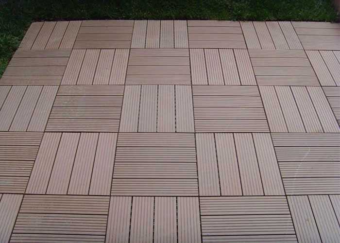 Wood Plastic Composite DIY Tiles