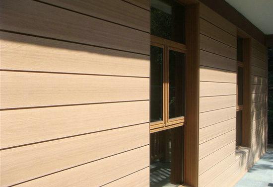 Wood Plastic Composite Wall Panels