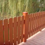 Composite Backyard Fencing
