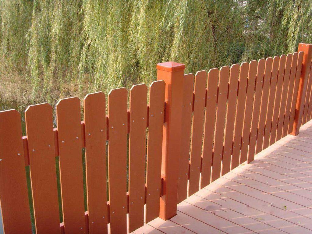 Composite Backyard Fencing