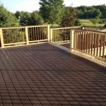 Eco-friendly Composite Balcony Deck Material