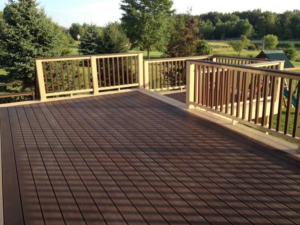 Eco-friendly Composite Balcony Deck Material