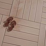 Composite Timber Decking Tiles