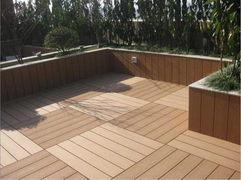 Wood Plastic Flooring Products