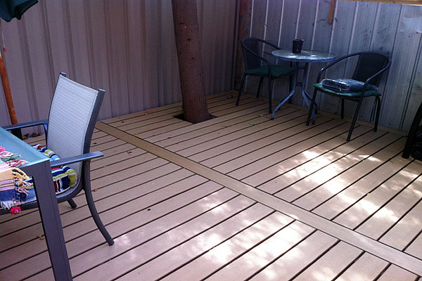 Cheap decking boards