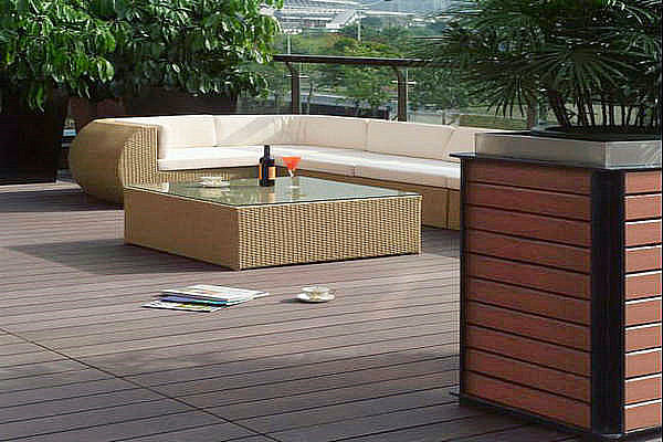 Composite outdoor furniture