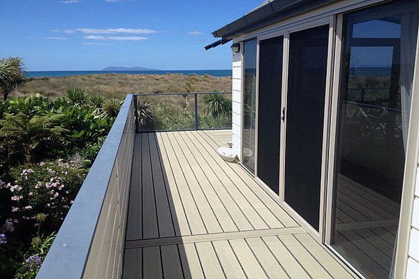 composite tongue and groove decking