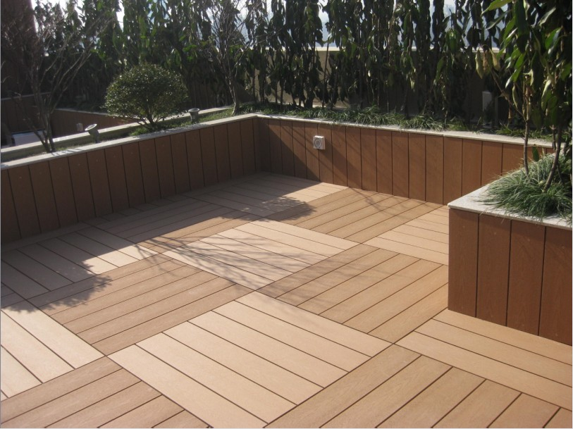 Composite Outdoor Flooring Materials Best WPC Decking Products