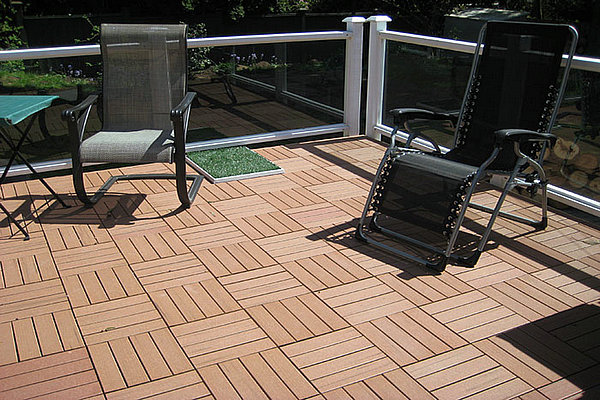 outdoor plastic flooring