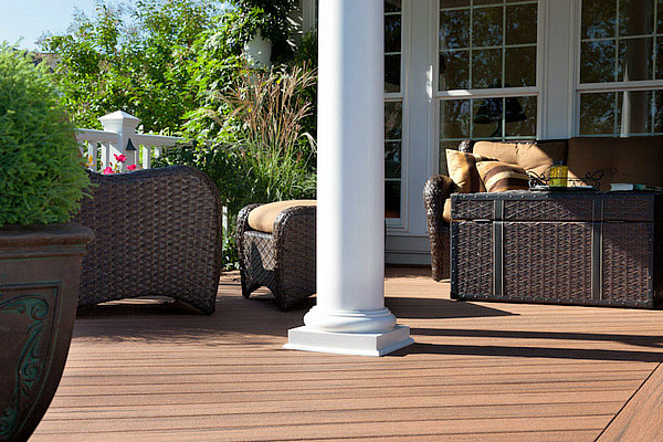 cheapest composite decking