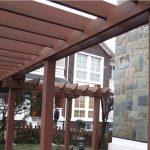 Qizhen Environmentally-Friendly Composite Wood Pergola