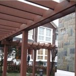 Seven Trust Environmentally-Friendly Composite Wood Pergola