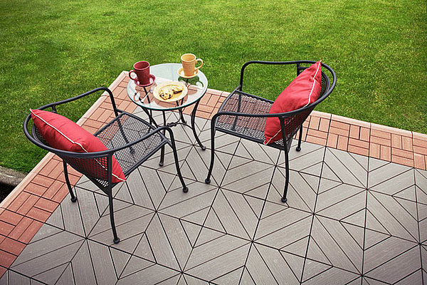 Wood Plastic Composite Outdoor Porch Flooring Products