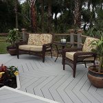 Cheap Outdoor Wood Plastic Composite Decking Floor