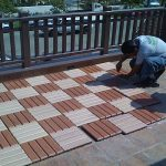 Build A Cheap Patio Floor For Your Outdoor