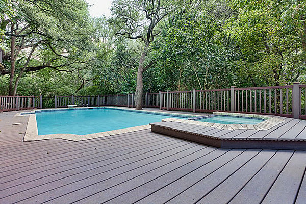 waterproof composite decking