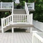 Building A White Composite Decking Boards