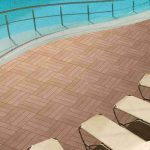 WPC Exterior Flooring Product in China