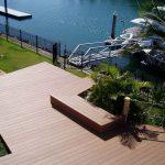 Wood Plastic Composite Boat Deck Flooring