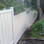Beautiful Composite Outdoor Fence For Your Backyard or Garden