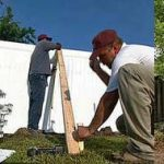 How To Install Black Vinyl Fencing