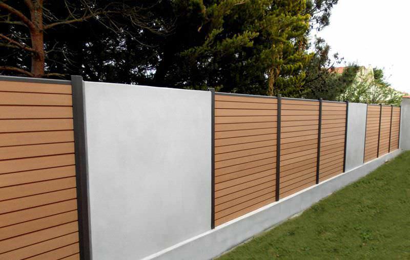 Using Composite Fence Alternative Wood Fence