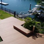 Wood Plastic Composite Boat Deck Flooring