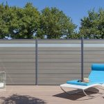 Privacy Fencing Panels of Wood Plastic Composite