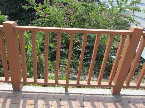 Wood Plastic Composite Outdoor Deck Railing