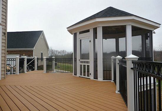 Recycled WPC Decking