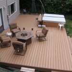 Composite Wood Outdoor Deck Material