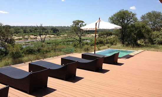Recycled WPC outdoor deck flooring
