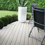 waterproof white composite decking boards