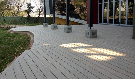 Seven Trust WPC Outdoor Plastic Flooring