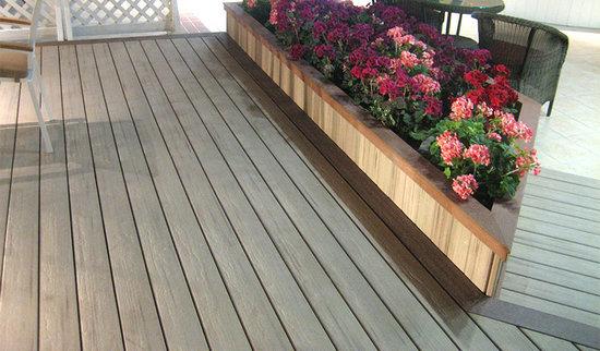 Wood Plastic Composite Deck Tiles Product Information
