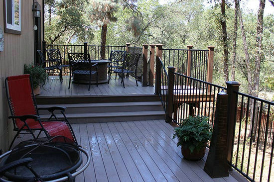 Wood Plastic Composite Decking Material Options