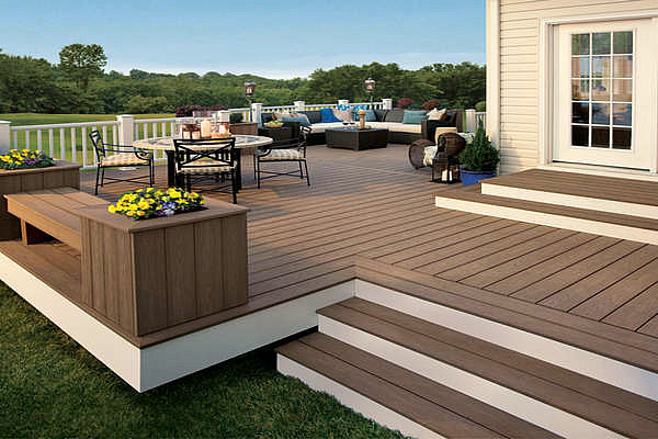 Environment Friendly WPC Outdoor Deck Furniture
