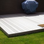 Waterproof PVC Decking Materials