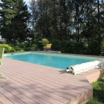 Wood Plastic Pool Edging DECK