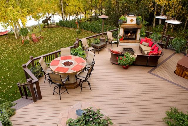 waterproof patio flooring