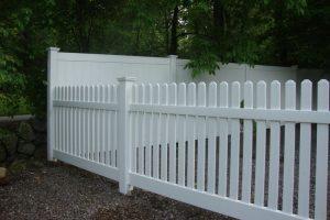 PVC Picket Fence STPF 01