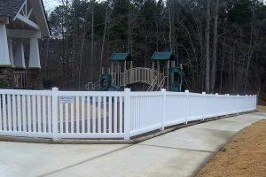 PVC Picket Fence STPF 02