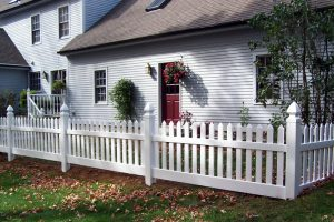 PVC Picket Fence STPF 03