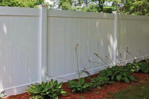 PVC Privacy Fence