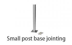 Small-post-base-jointing