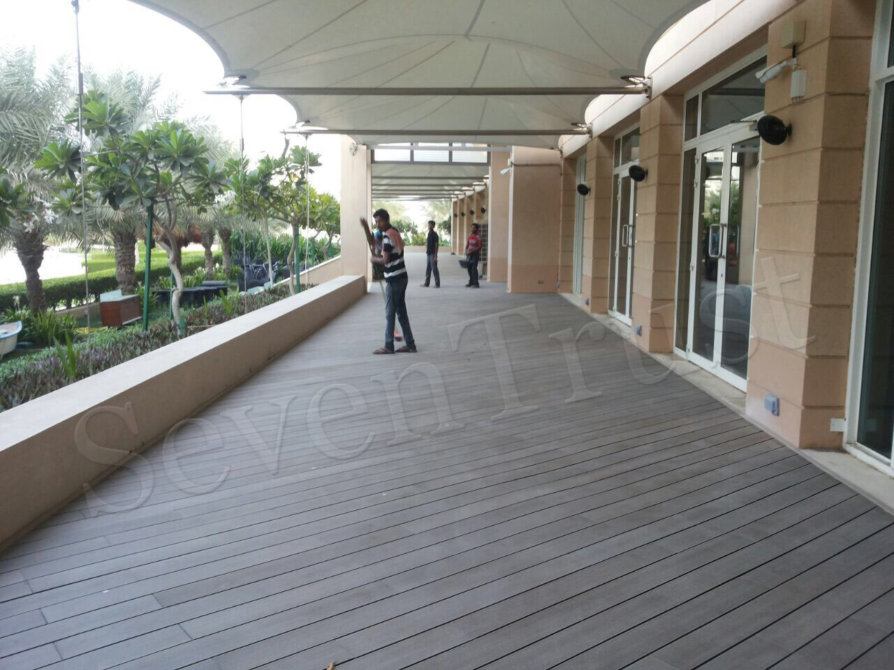 WPC Decking Installation