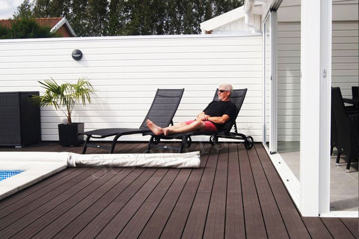 WPC Decking Project In Spain