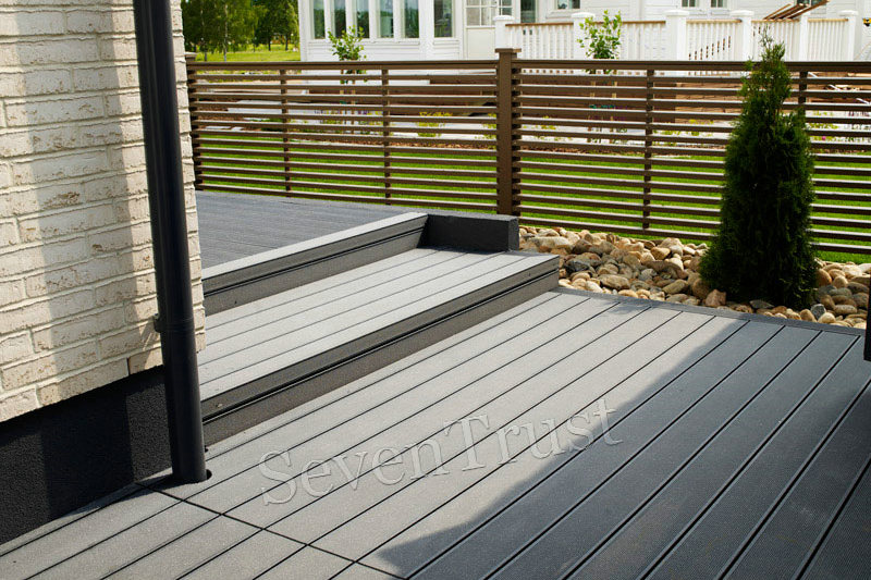 WPC Decking Project In Thailand